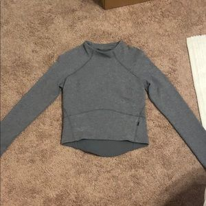 Lululemon grey long sleeve